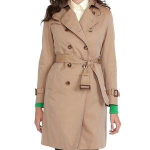 Brooks Brothers Double-Breasted Trench Coat EUC